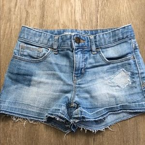 Girls Gap Kids 10 Slim Denim Shorties